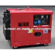 Gerador diesel silencioso de 5 quilowatts SamllPortable