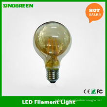 Luz de la Navidad del LED Ce EMC LVD RoHS 6W G80 Filament LED Bulb