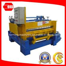 Stahlblechabflachmaschine mit Schlitz- und Schneidgerät