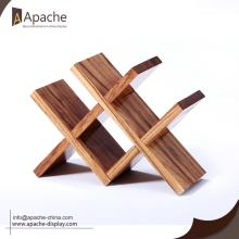 Manufactur standard for Wine Display Stand Detachable Wooden Wine Display Rack supply to Guam Exporter