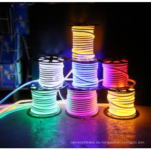 2017 Nuevo Producto 110 V / 220 V Flex LED Luz de la Cuerda de Neón para la Fiesta de Navidad Interior Al Aire Libre Decoración de La Decoración de San Valentín