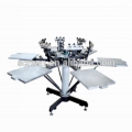 T-Shirt Siebdruckmaschine mit Mikroregistrierung