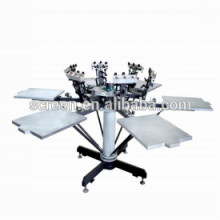 T-shirt Silk Screen Printing Machine With Micro Registration