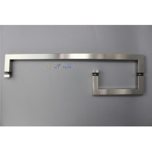 L-shaped Bathroom Glass Door Stainless Steel Pull Handle