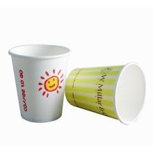 Personalizado de una sola pared aislados vending tazas de papel de café