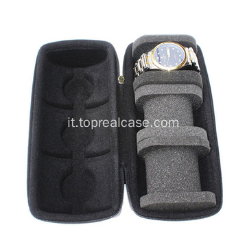 Triple Watch Travel Case Organizer