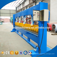 New style metal sheet 4m hydraulic cnc letter bending machine