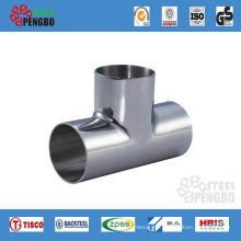 ASTM Std Stainless Steel Pipe Three Tee