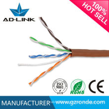 Made in China PVC jacket 305m/roll cat5e network cable 3m