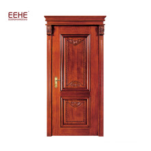 America Red Oak Main Door Entrance Door Design Wooden Solid Wood Doors