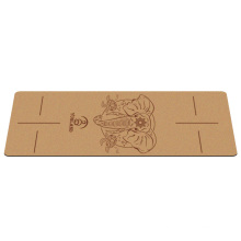 Yugland  custom carving printing resists germs and odor pilates eco-friendly natural rubber corp yoga mat
