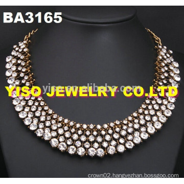 choker rhinestone necklace