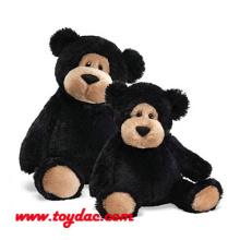 Плюшевые черные медведи