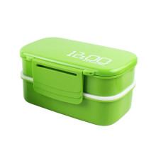2018 nueva idea de negocio venta caliente colorida caja de almuerzo de almacenamiento de alimentos de plástico