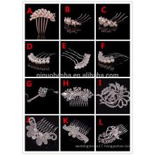 Briliant Women Wedding Party Hair Accessories Hair Clamps & Combs For Bride Wedding Party Accessories NB1006