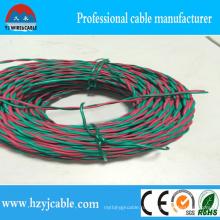 2 * 0.5 Цветной фетриловый витой кабель