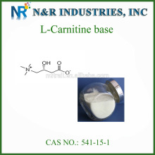 Polvo a granel de la l-carnitina del surtidor confiable CAS # 541-15-1