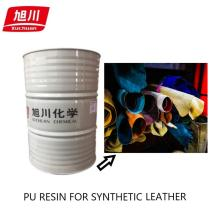Pu resins for pvc leather making