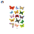 Etiqueta engomada del tatuaje del boay de la serie de la mariposa 145 * 210m m en Foshan