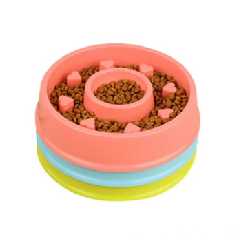Interactive Pet Slow Feeder PP bowl