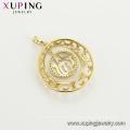 33747 Xuping muslim jewelry 14k gold plated Allah design pendant