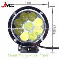 10 LED High brightness beam/high power 45w aluminum housing for work light
