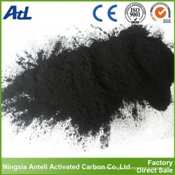 reactivos químicos polvo de grado alimenticio de carbón activo