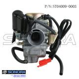 GY6 50cc carburetor 4 stroke