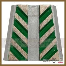 Marble Frankfurt Metal Pad with 8segment
