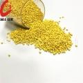 Granulés de mélange maître de couleur jaune pour aliments
