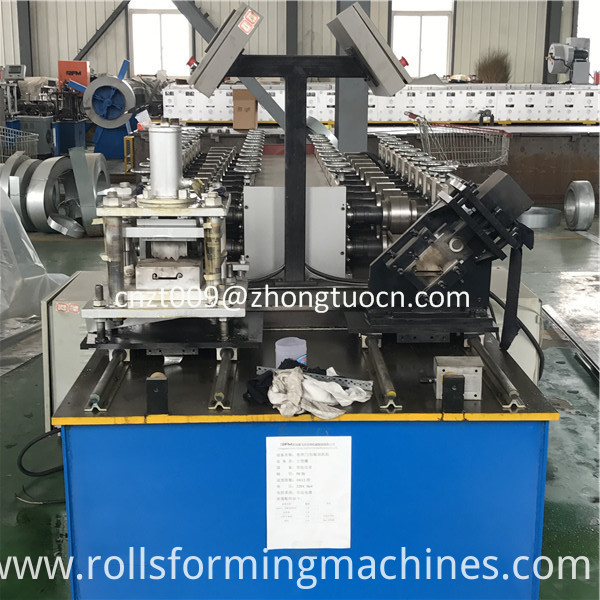 steel shutter door roll forming machine 10