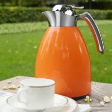 Edelstahl-Vakuumkaffeetopf / Kessel mit Glasnachfüllung