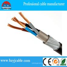 0.6 / 1кв Cu / XLPE / ПВХ / Swa / ПВХ силовой кабель британский стандарт BS5467