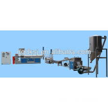 Plastic extruder and recycling machines
