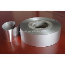Cinta de la tela tejida de aluminio, material de cubierta reflectante y de plata