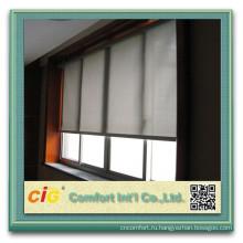 Высокое качество плотные ткани ПВХ солнцезащитный крем 30% полиэстер 70% ПВХ