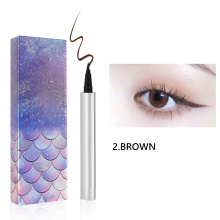 Wholesale Custom Logo Longlasting Waterproof Non-smudge Quick-drying Cross-border Soft Tip Liquid Eyeliner Pen