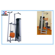 Trainers arm flexion and extension chin&dip assist /assisted chin dip machine