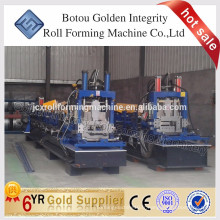 Chine Métal Structural High Quality Steel Profil CZ Section Purlin Cold Roll Machine Machine
