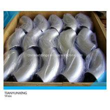 Бесшовные стыковые сварные фитинги TP304 Колено из нержавеющей стали