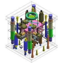 Produto de peça de plástico desenvolve molde de injeção personalizado