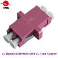 LC Duplex SC Tipo Multimodo Om4 Adaptador de fibra óptica