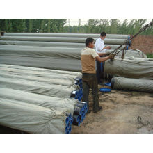 carbon steel pipe round- big size pipe seamless pipe thick wall pipe a106b