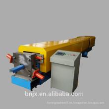 Rodillo de tubo cuadrado que forma la máquina, rodillo de pico hacia abajo que forma la máquina, pipa de agua de acero del color que hace la máquina