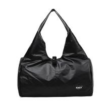 2020 Trending Hot sale Custom logo Black Duffle bag Wholesale Waterproof  Gym Bag For Women Gym Bag
