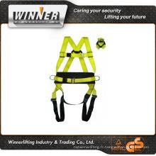 design de haute qualité full body harnais de sécurité