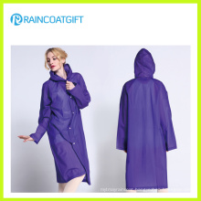 Waterproof EVA Fashion Women′s Raincoat