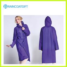 Capa de chuva à prova d'água EVA moda feminina