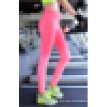 Seamless Ladies Stretchy Gradient Printed Sports Leggings