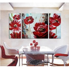 Wholesale Handmade Abstract Oil Painting Flower
